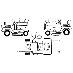 POULAN TRACTOR Parts | Model PK19H42LT | Sears PartsDirect