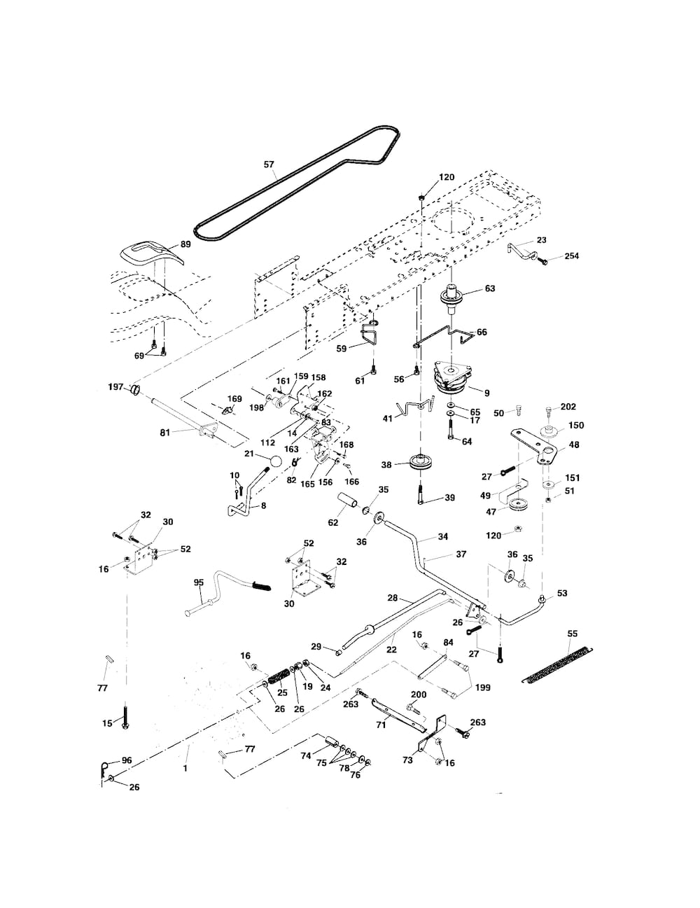 ... and Parts List for POULAN Riding-Mower-Tractor-Parts model # PK20H48YT