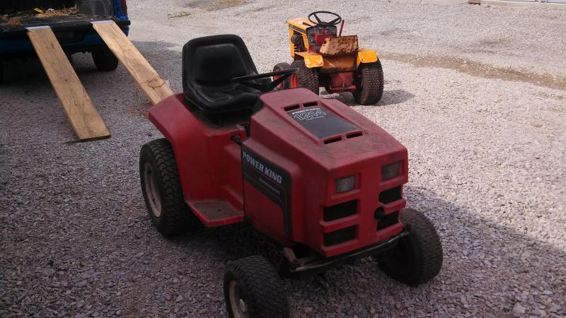 New Too Me Power King 1214 - Power King, Economy Tractor Forum ...