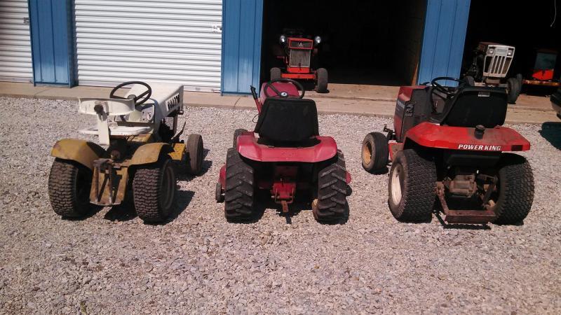 Little Power King Size Comparison. - Garden Tractor Forum - GTtalk