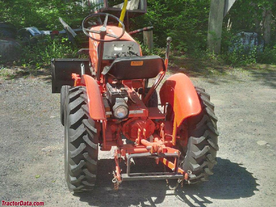 TractorData.com Power King 1612 tractor photos information