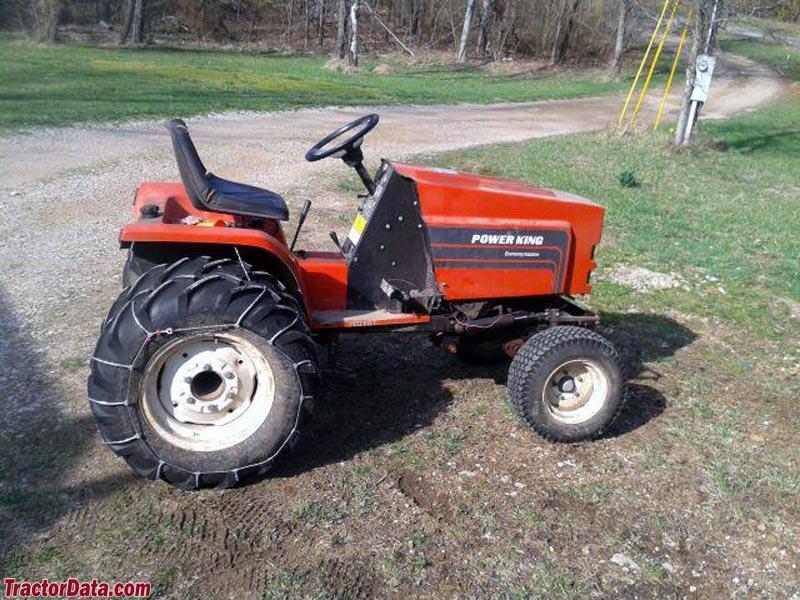 TractorData.com Power King 1618 tractor photos information