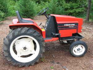 Power King Economy Tractor Tattoos