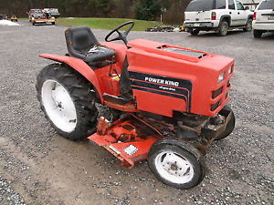 Power-King-2417-Garden-Tractor-With-48-034-Mowing-Deck-Mower-17HP-SN ...
