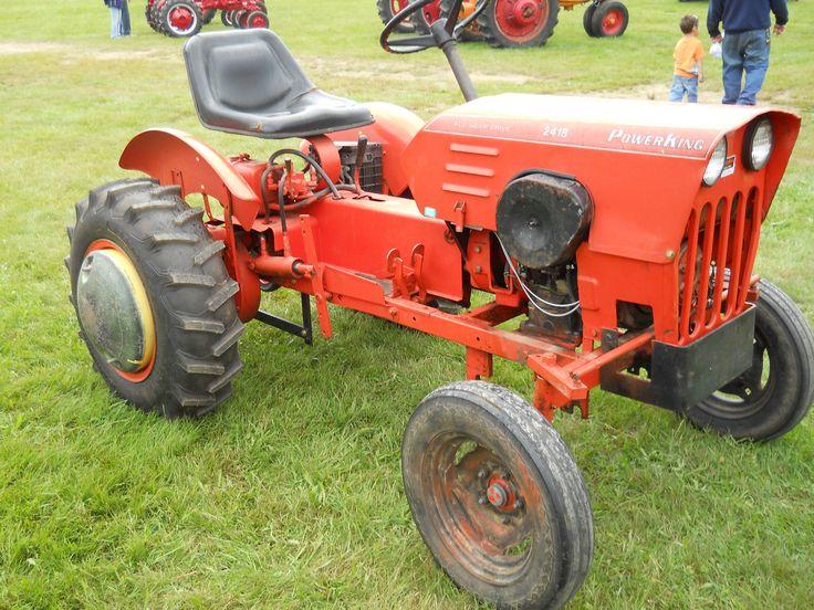 Power King 2418 All Gear Drive Tractor https://www.youtube.com/user ...