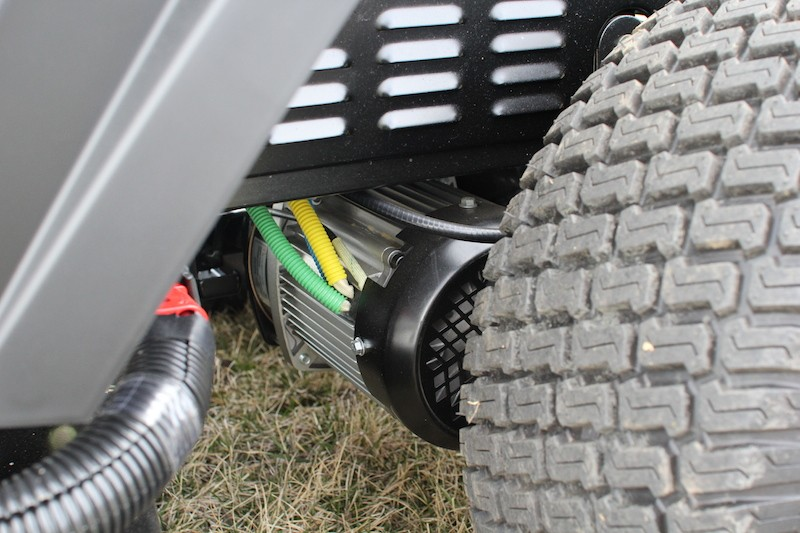 RAVEN MPV 7100 S Hybrid Generator Mower- 2.0 - Tools In Action - Power ...