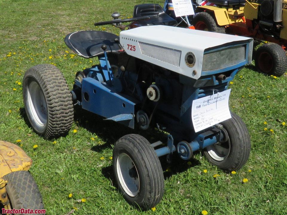 TractorData.com Sears Suburban 725 917.60634 tractor photos ...