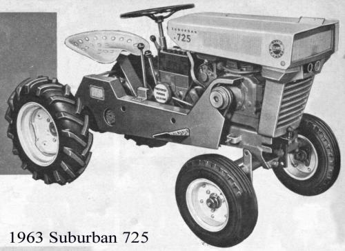 Craftsman Sears Suburban 725 Riding Tractor Model 91760633 Pictures to ...