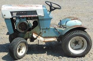 Sears Suburban Super 12 Tractor PTO Control Lever | eBay