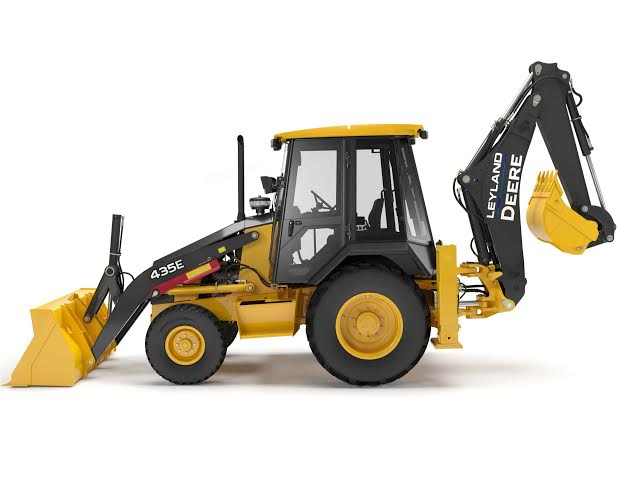 leyland backhoe loader