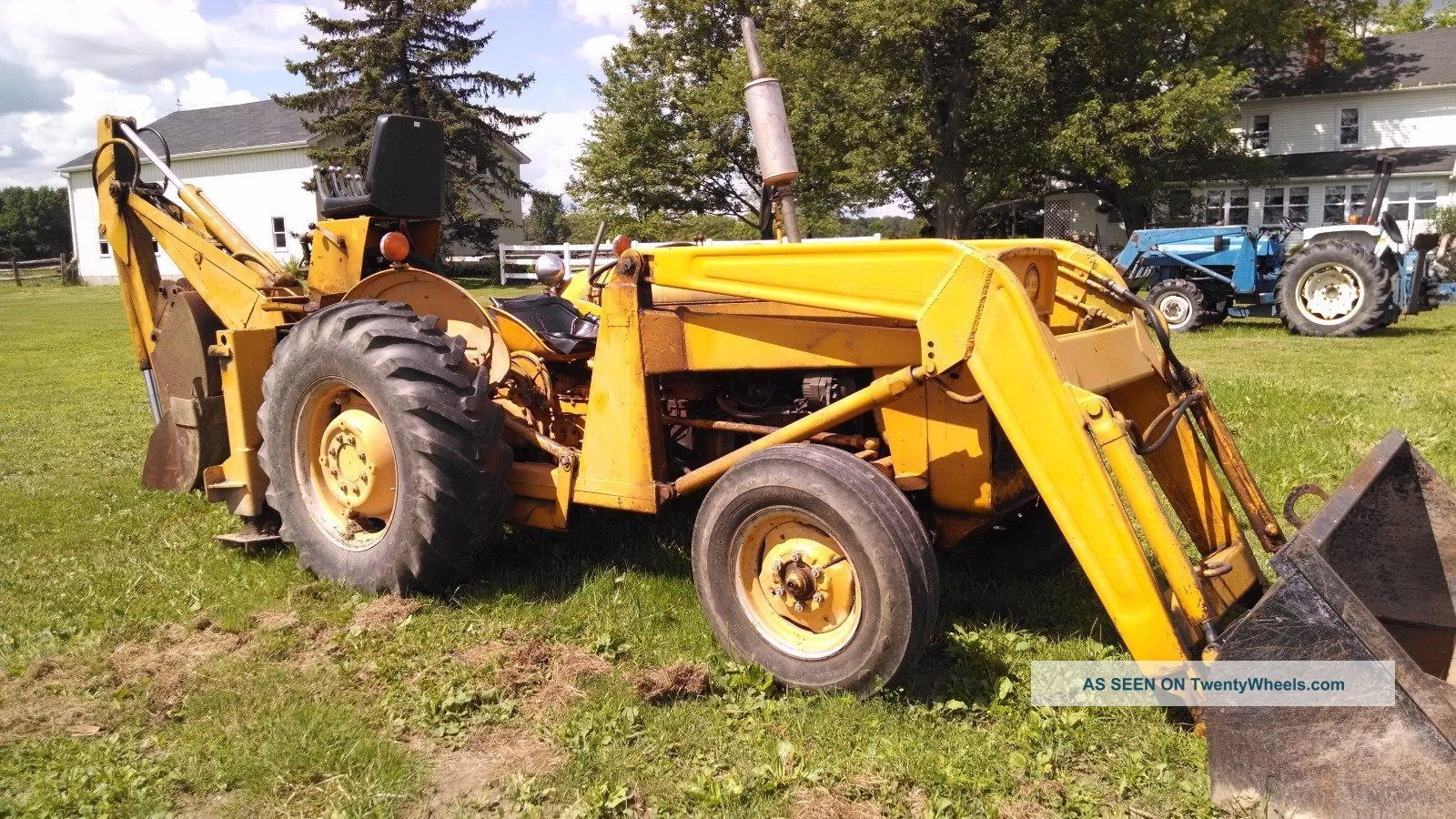 massey ferguson backhoe loader