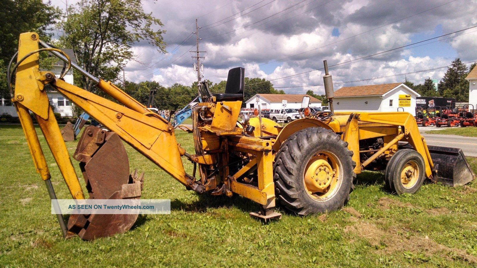 Massey Ferguson Tractor Loader Backhoe, 3 Point, Rear Pto ...