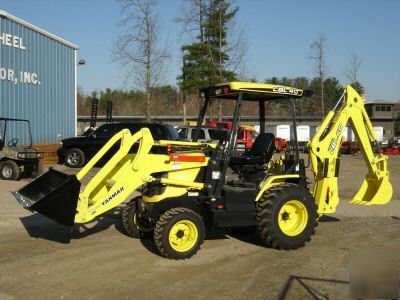 yanmar backhoe loader