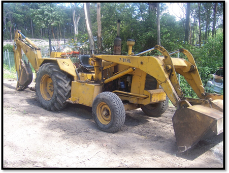 chamberlain cjd backhoe loader