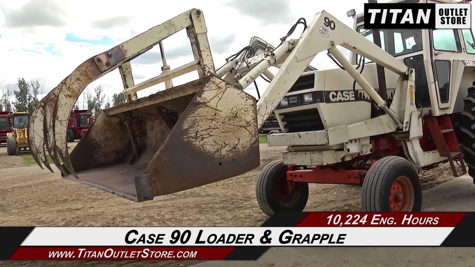Case 2290-10,224 hrs, Loader/Grapple, 3pt, Duals Sold on ELS ...