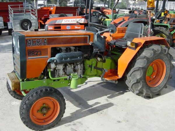 Agria (Hispania) 8823   Tractor & Construction Plant Wiki ...
