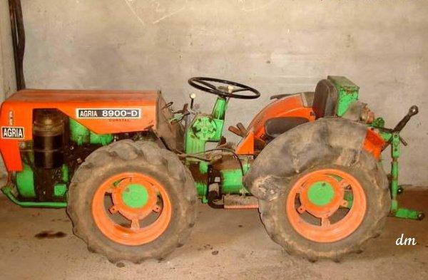 Agria (Hispania) 8900 D - Tractor & Construction Plant ...