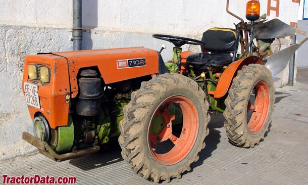 TractorData.com Agria Hispania 7100 tractor photos information