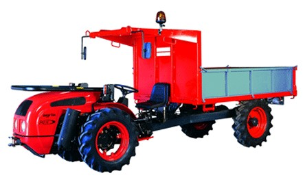 Agria (Hispania) 940 N Tractocarro | Tractor ...