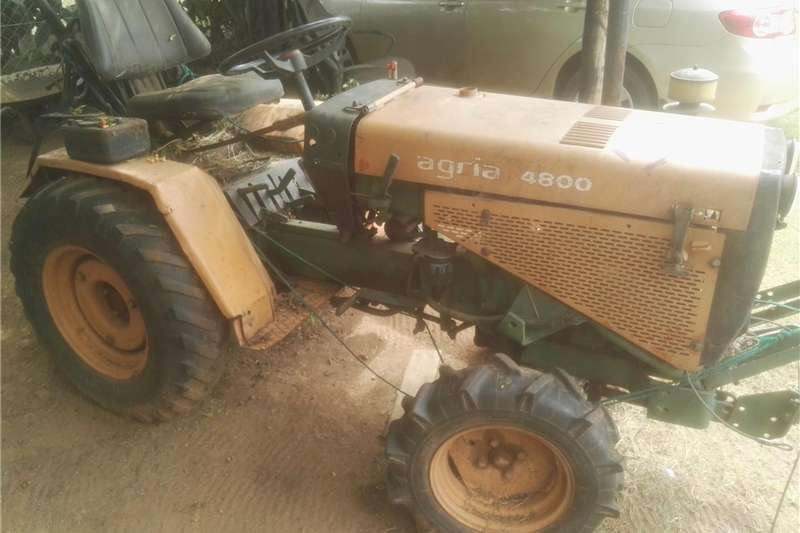 Agria 4800 Tractor, Slasher, Plow, Ground breaker Two ...