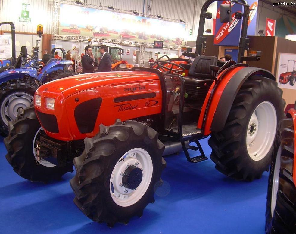 Agria Hispania | Tractor & Construction Plant Wiki ...