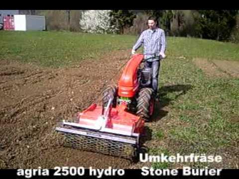 agria 2500 Einachser mit Umkehrfräse Two-Wheel Tractor ...