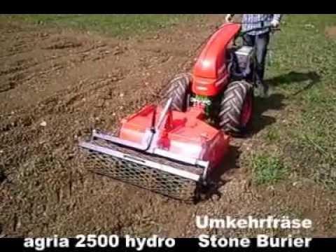 agria   2500 Einachser mit Umkehrfräse   Two Wheel Tractor ...