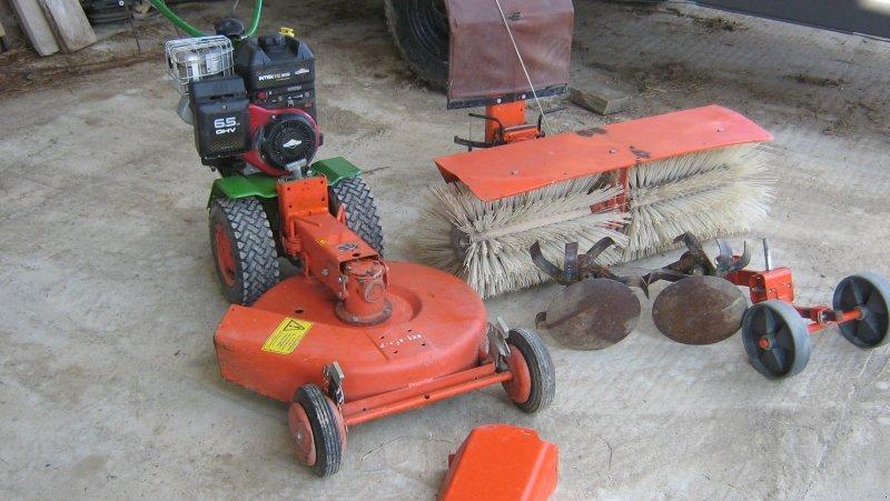 Single axle tractor Agria 400 - technikboerse.com