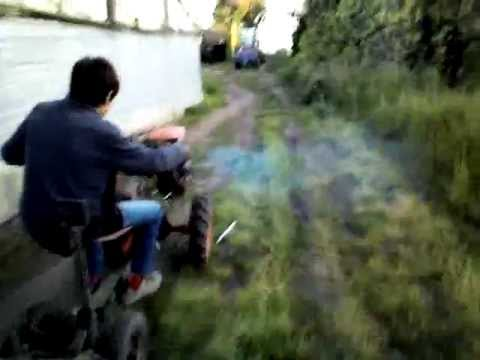 Agria 7000 motor Lombardini - Tractor agricultor - YouTube