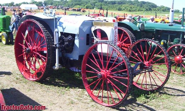 parrett farm tractors