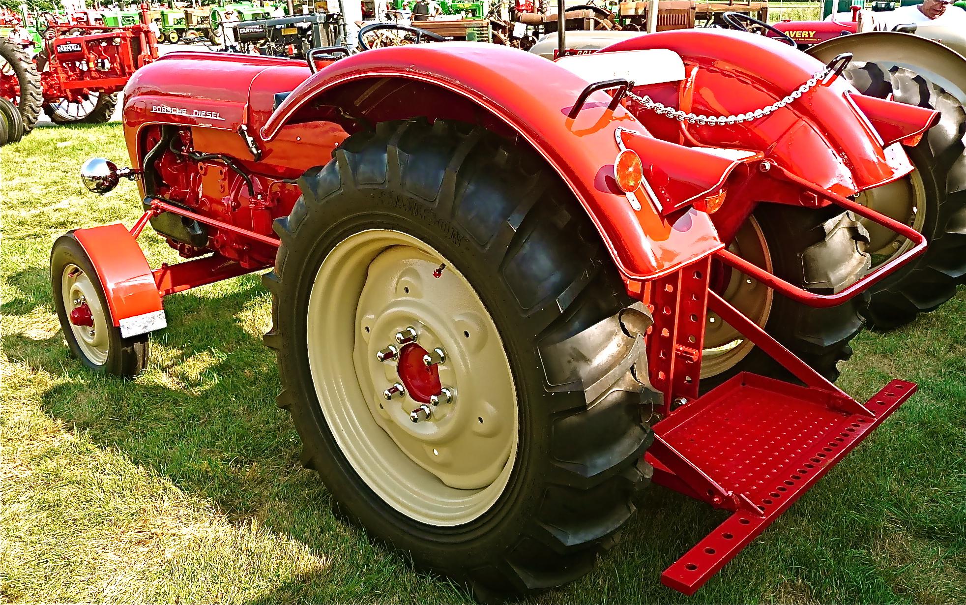 porsche farm tractors