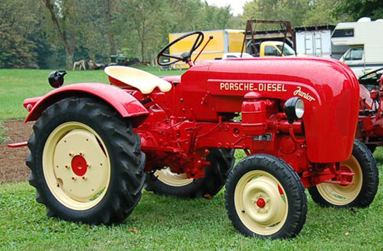 Porsche Touch Extended to Tractors