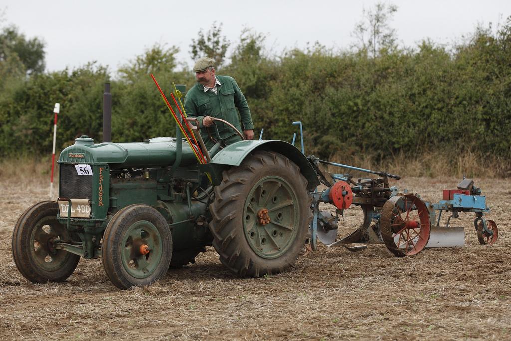 ransomes farm tractors