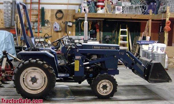 TractorData.com Rhino 184 tractor photos information
