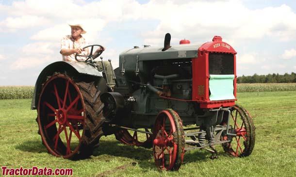 rock island farm tractors