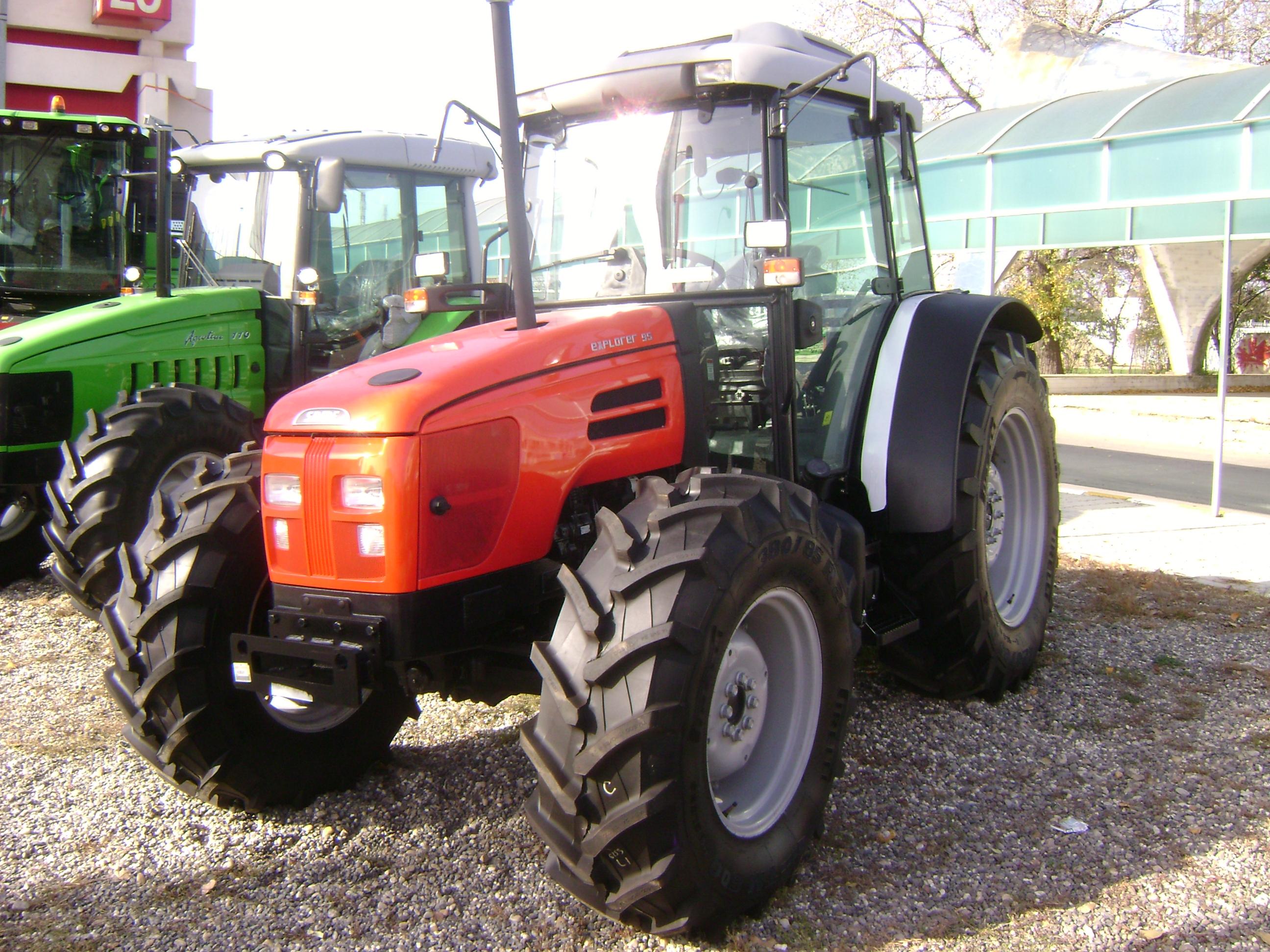 same farm tractors