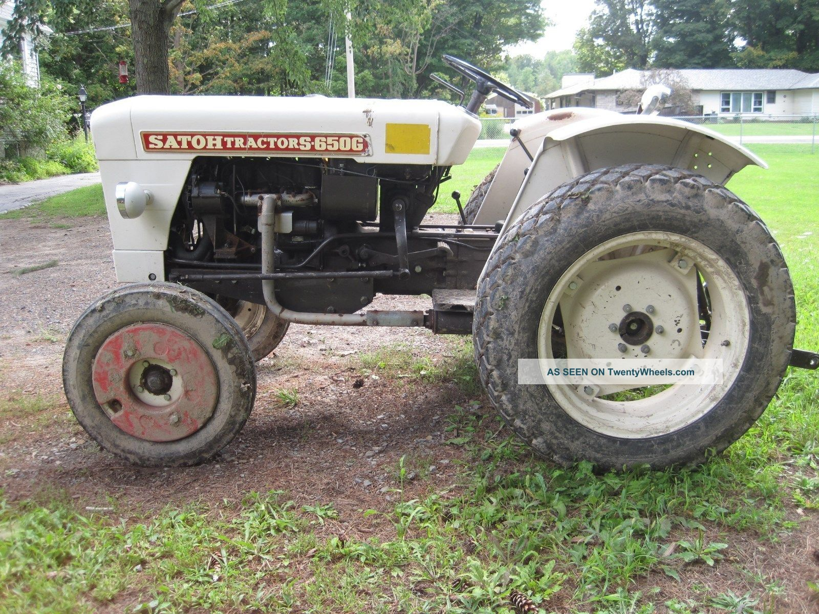 Satoh S650g Tractor 512 Hours Tractors photo 2