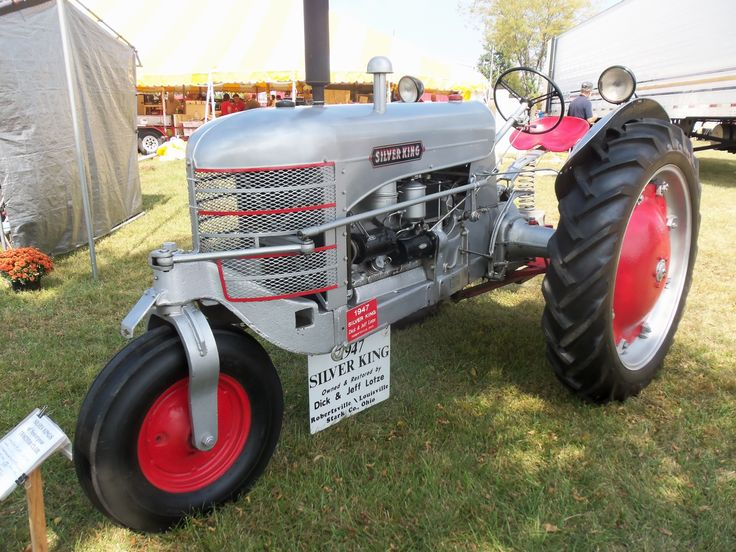 Silver King tractor | Tractors and Tractor Parades | Pinterest