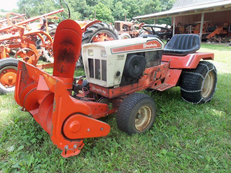 simplicity farm tractors