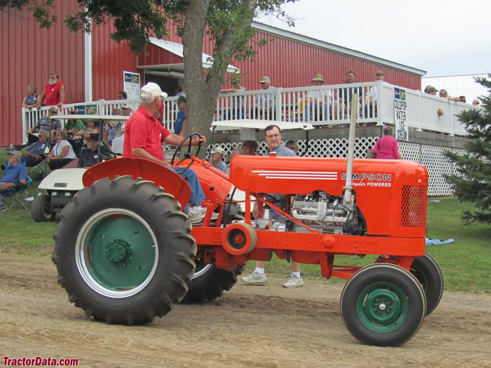 simpson jumbo farm tractors
