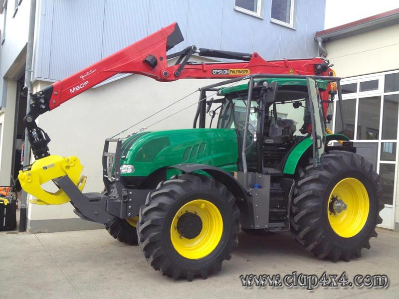 Tractors - Farm Machinery: Steyr Forest Tractor