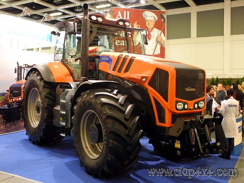 Tractors - Farm Machinery: Terrion ATM Tractor