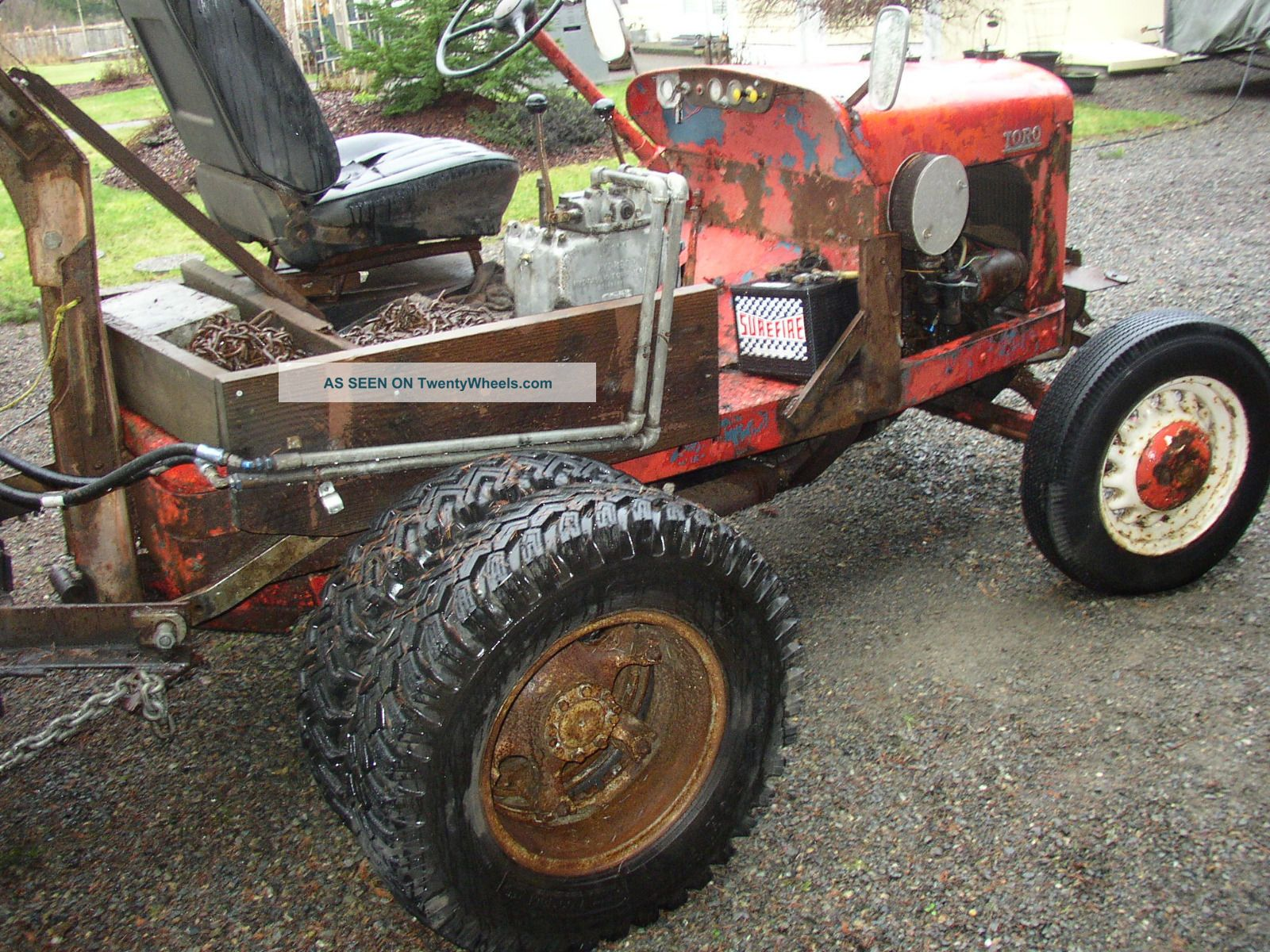 Toro Golf Course Tractor Ford Runing Gear Antique & Vintage Farm Equip ...