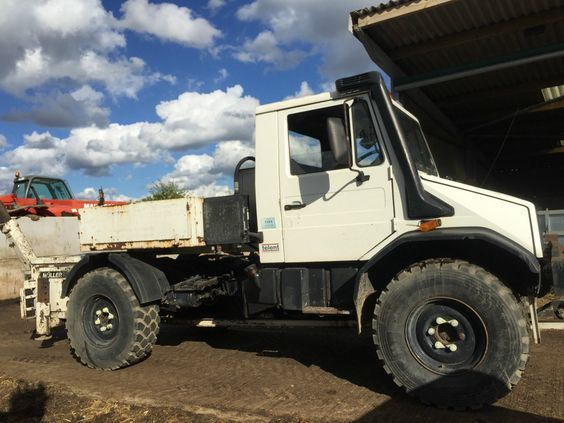 Mercedes unimog agricultural tractor muller 220 winch | Tractors and ...