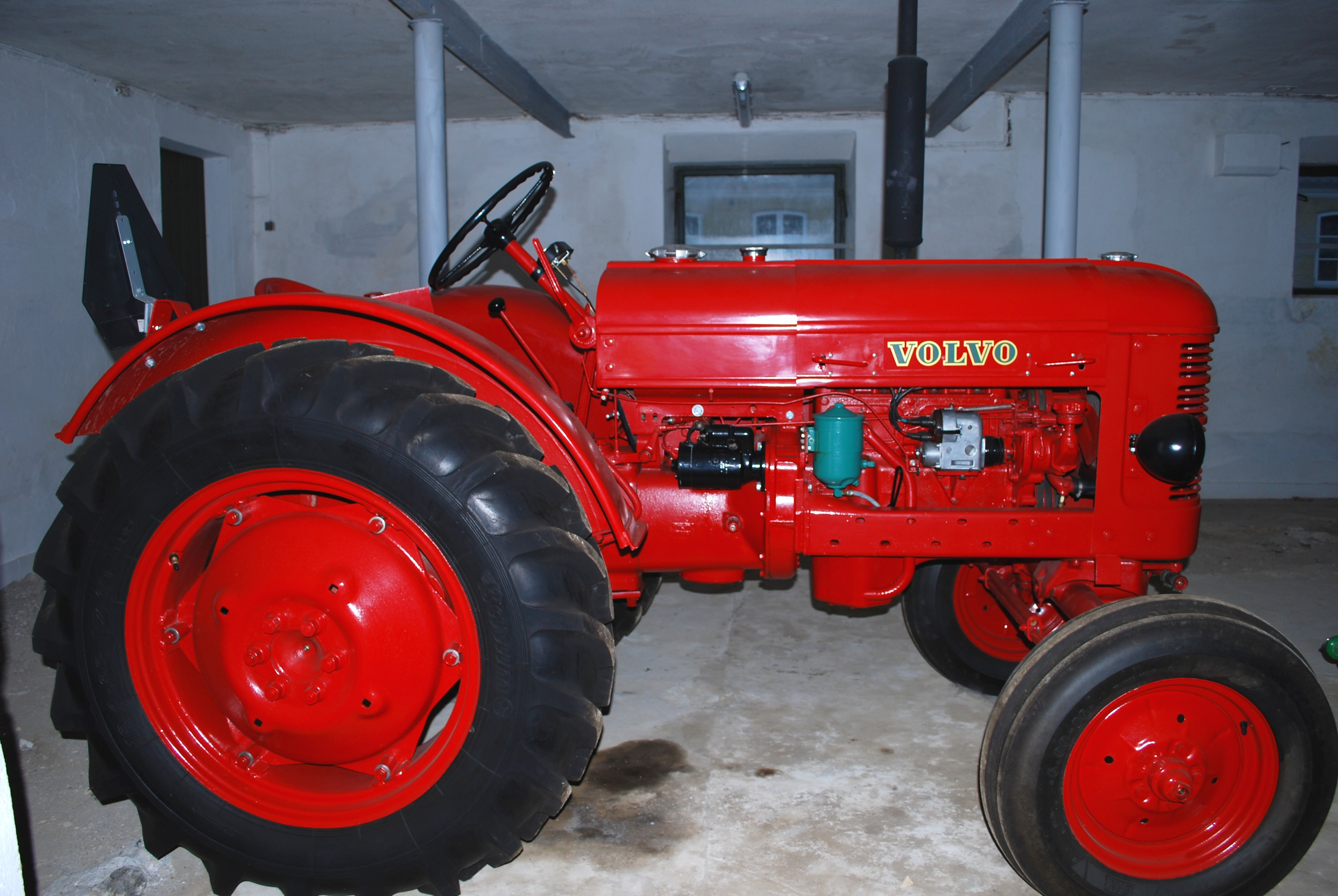 tractors began to appear in the 1960s some four wheel drive tractors ...