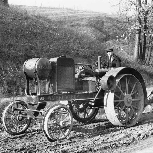Waterloo Boy tractor late 1910s or early 1920s | Farm & Home ...