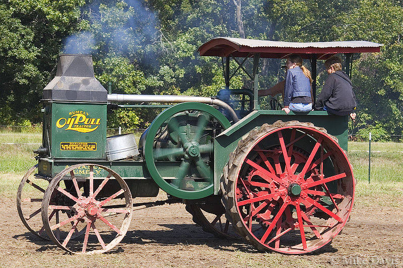 Advance-Rumely Oil Pull Tractor photo - Mike Davis photos ...