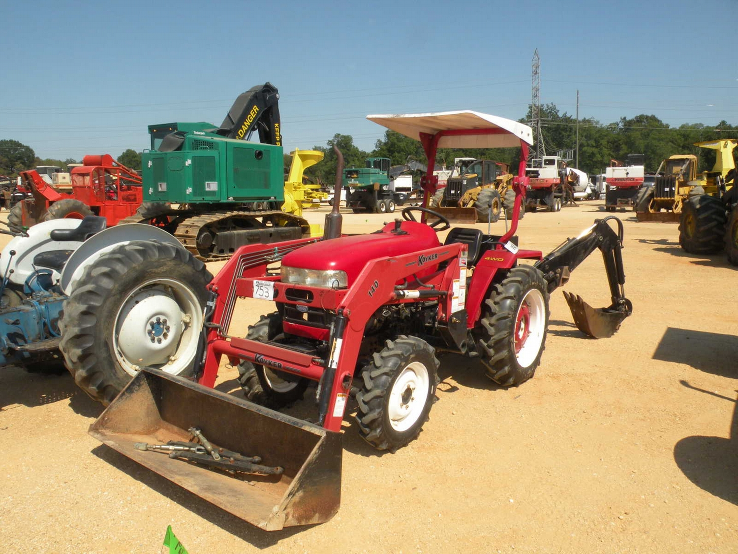 AG-KING TRACTOR 2840 4X4 FARM TRACTOR