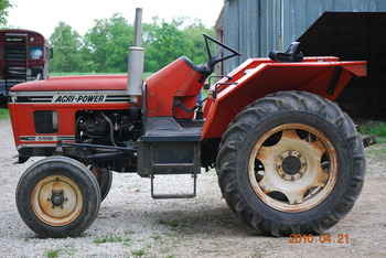 agri power tractor
