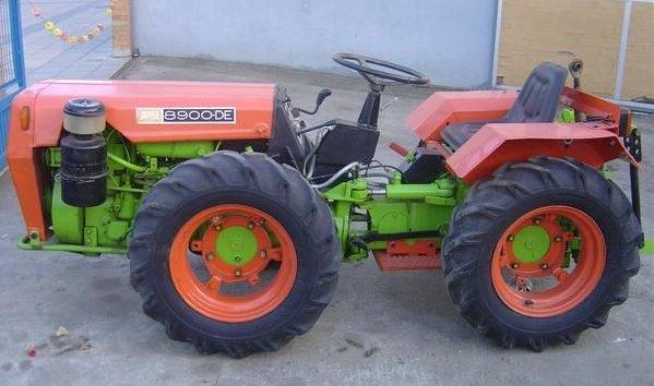agria hispania tractor